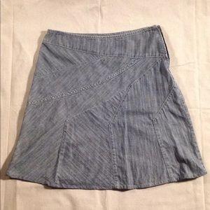 DKNY JEANS bias cut skirt, size 6, Japanese cotton